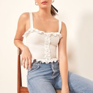 Reformation Trixie Top